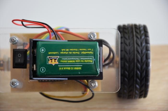 Robot Gyropode - Self balancing robot-Explications générales et schéma