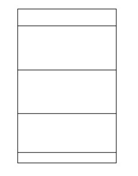 Un calendrier perpétuel-Etape 2 - Le pliage