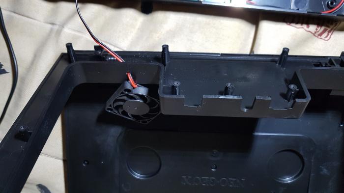 Neo Geo X π-La ventilation