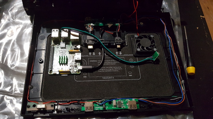 Neo Geo X π-Port RJ45