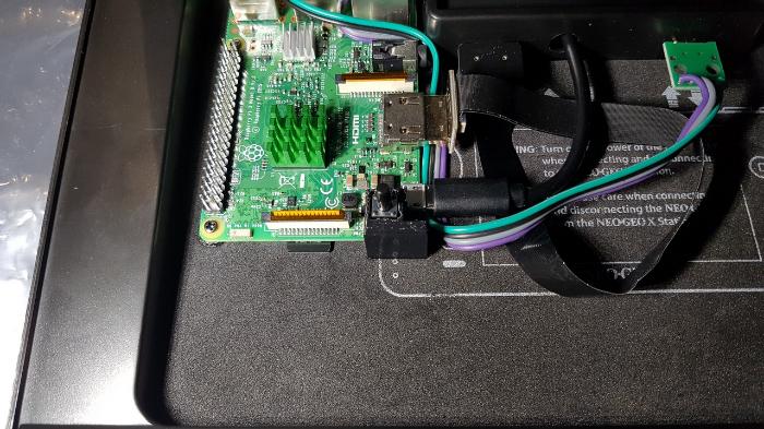 Neo Geo X π-'BONUS' Power OFF-ON