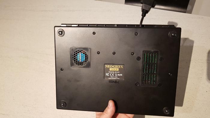 Neo Geo X π-Le résultat