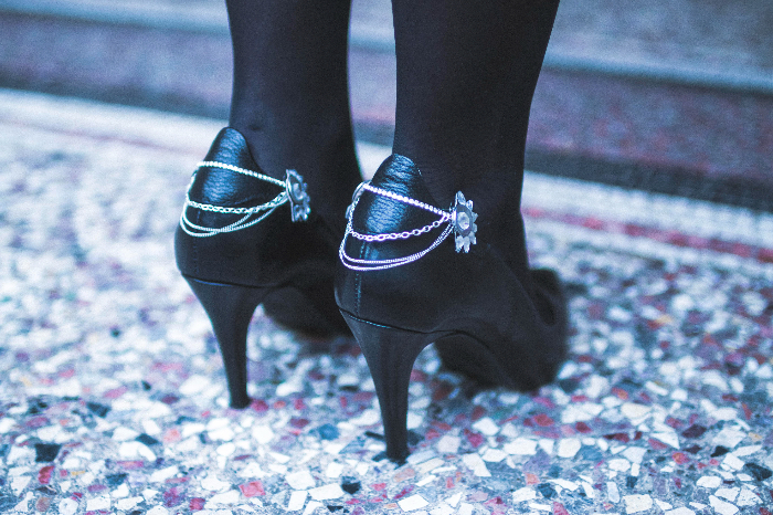 Clips à chaussures de fêtes-Taaaadaaaa
