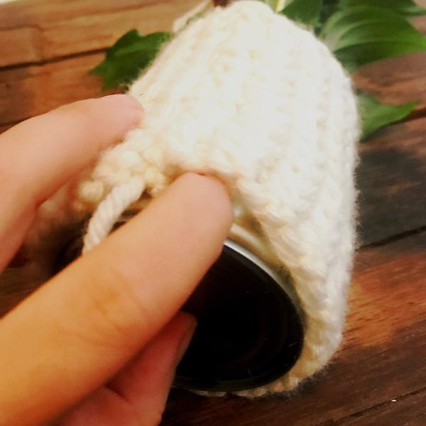 Caches pots au tricot-Assemblez!