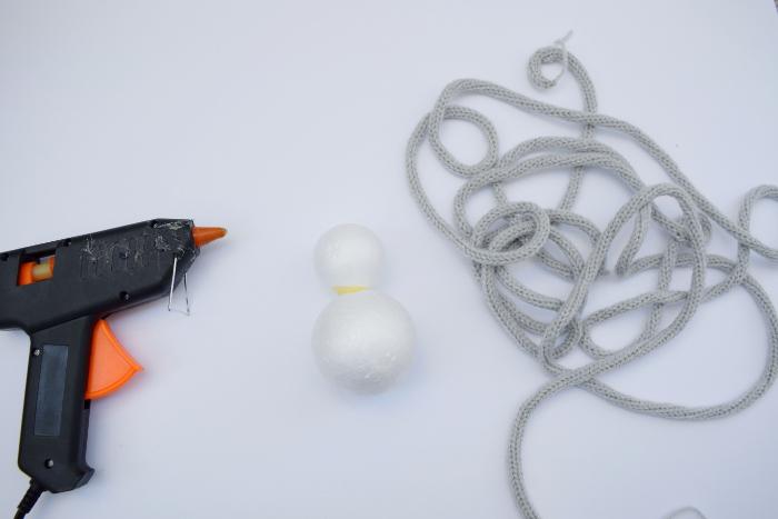 Un Lapin en tricotin-Le corps du lapin