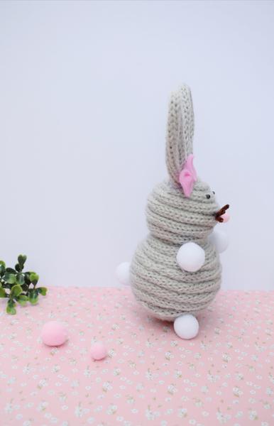 Un Lapin en tricotin-Finale