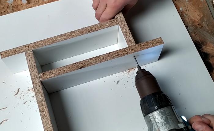 Lampe bois et béton-Fabrication du socle en béton