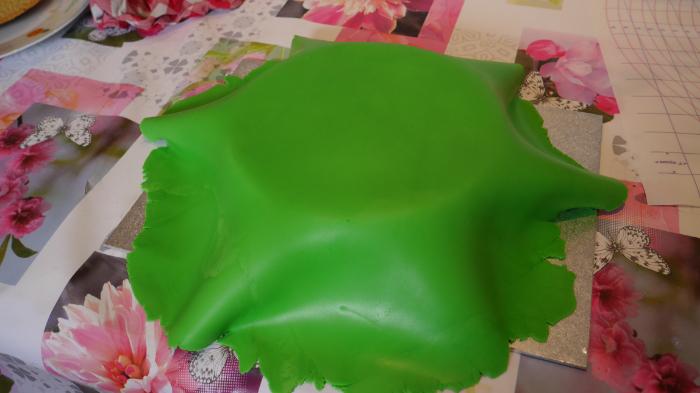 Le gâteau magique de la sorcière-Décorer le gâteau