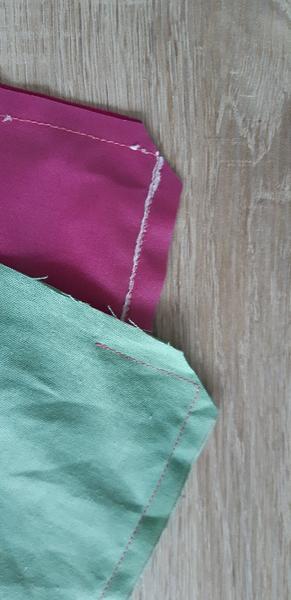 Pochette imperméable pour ranger le maillot de bain-Assemblage PUL et Coton