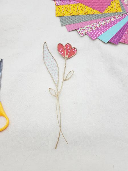 Trio de soliflores fleuris-Dernier bouquet : les boutons de fleurs