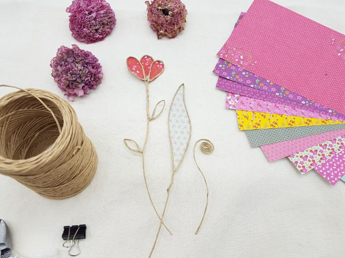 Cadeaux d'invités -Le bouton de fleur