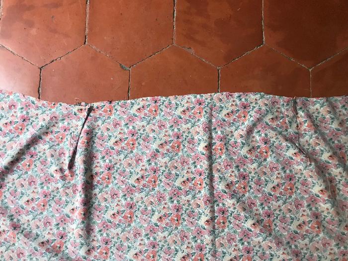 jupe portefeuille la plus facile du monde (gratuit et sans patron)-plis & ourlets