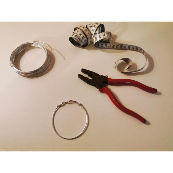 Bracelet wax en 1 minute-Structure du bracelet