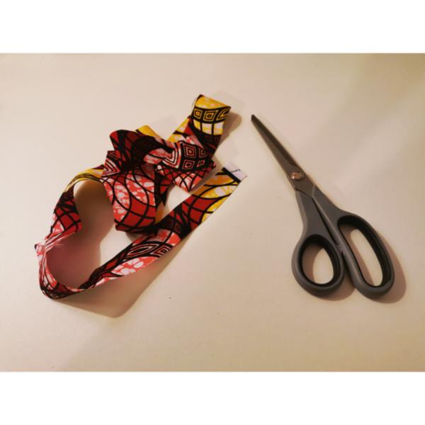 Bracelet wax en 1 minute-Préparation du tissu