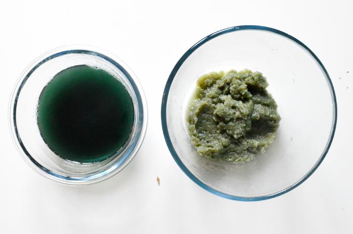 Créer des confettis à semer-La teinture végétale