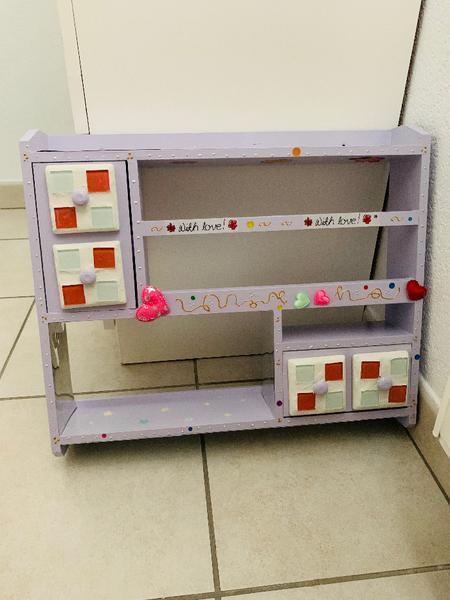 Redonner une jeunesse à une étagére-Atelier décoratif