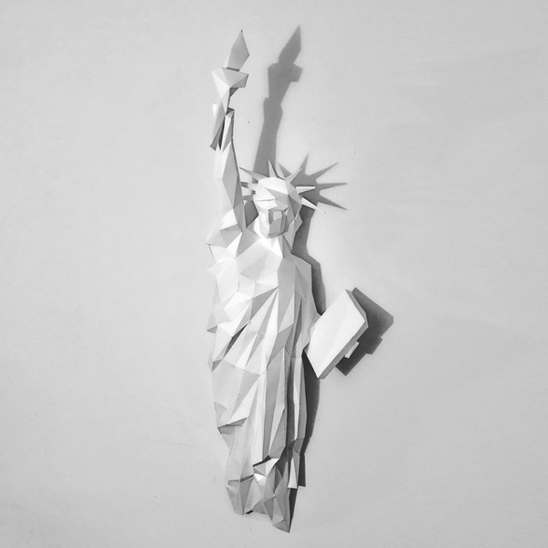 Statue de la liberté - DIY papier-Personnalisation de la Sculpture
