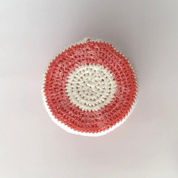 Tasse pour dînette au crochet-Rigidifier la tasse (optionnel)