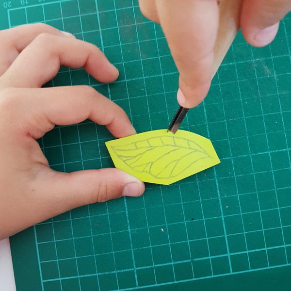 Graver un tampon Feuille de Thé (pour enfant dès 8 ans et adultes)-Conseils préalables à la gravure