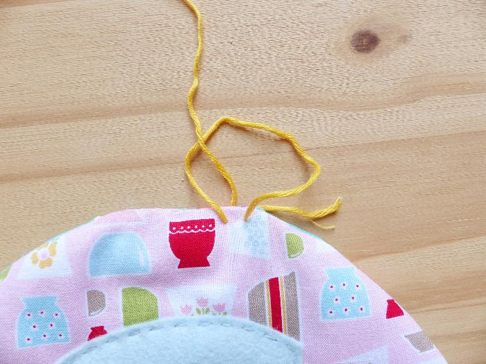 Dessous de théière et tasses-Tour au crochet #2