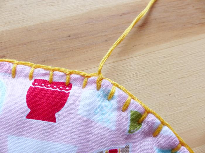 Dessous de théière et tasses-Tour au crochet #3