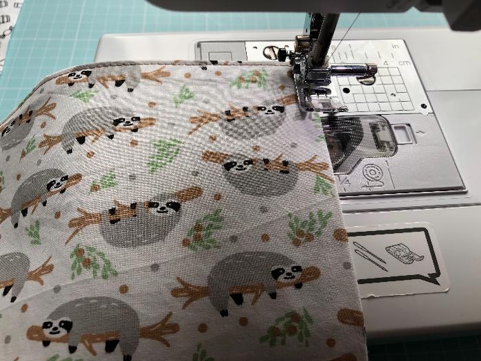 Livre à colorier lavable -Couture de la couverture