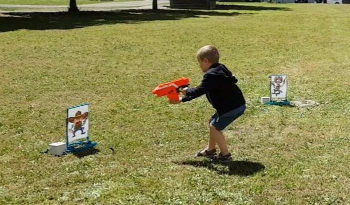 Jeu de tir, dégommons les Cowboys :)-Quelques Photos..