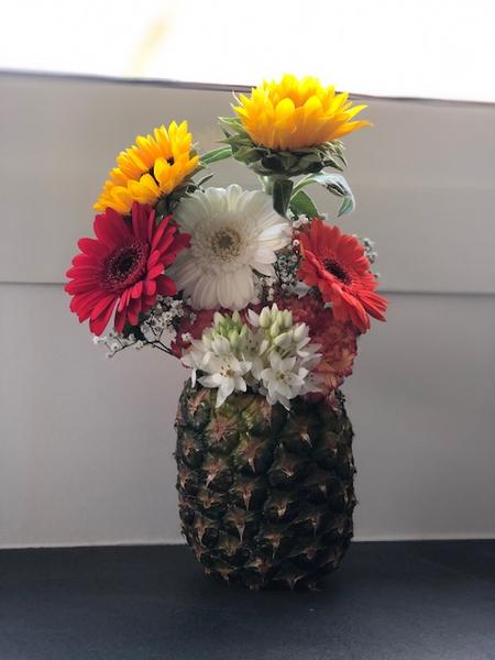 Composition florale aux saveurs de fruits -Réaliser