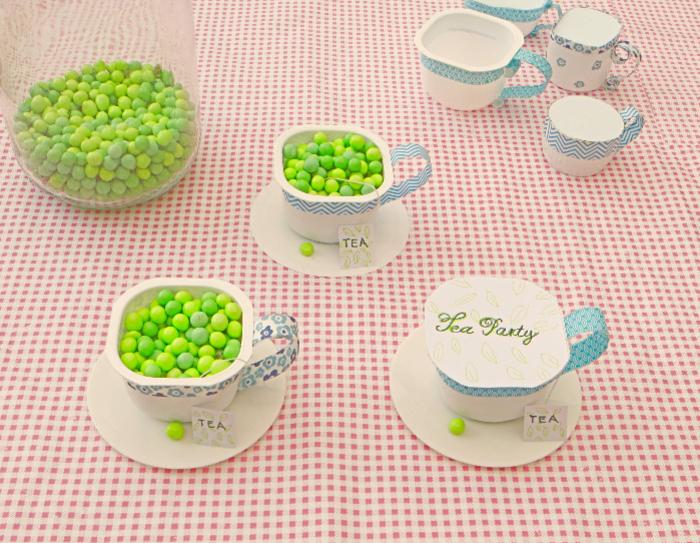 Ma tasse de thé upcycling pour une Tea Party-Inviter vos amis à la Tea Party