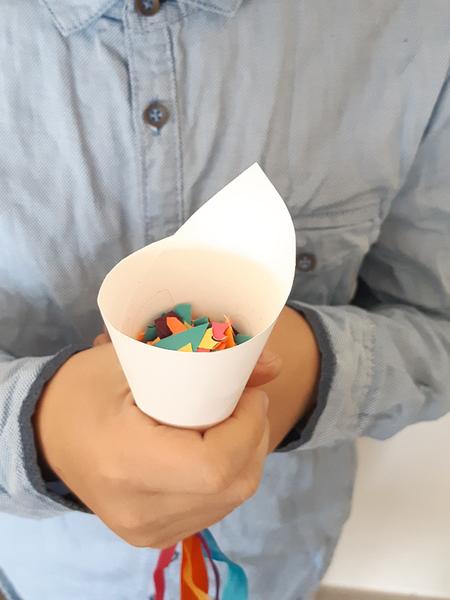Confettis pour la sortie des mariés aux Couleurs du Mexique !-Amusez-vous !