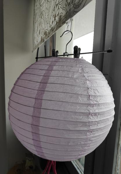 Comment fabriquer une urne de baptême réutilisable en luminaire pour chambre de bébé-décorer le ballon