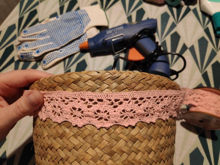 Comment fabriquer une urne de baptême réutilisable en luminaire pour chambre de bébé-décorer le panier