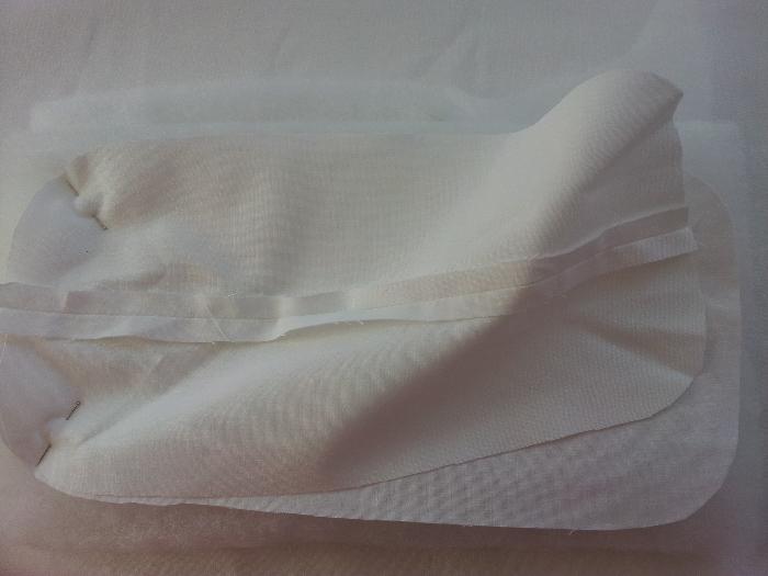 Le couffin des anges-Etape 11 : Préparation du matelas