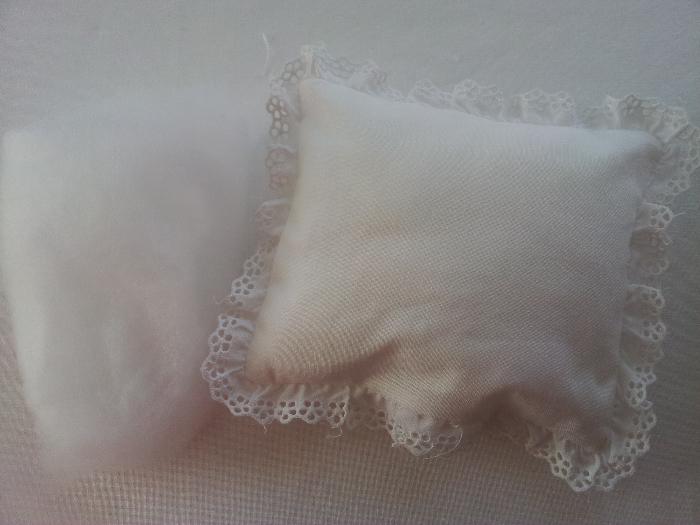 Le couffin des anges-Etape 12 : Préparation de l'oreiller
