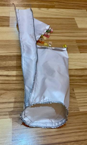 Housse isotherme pour bouteille -Assemblage du dessous (2)