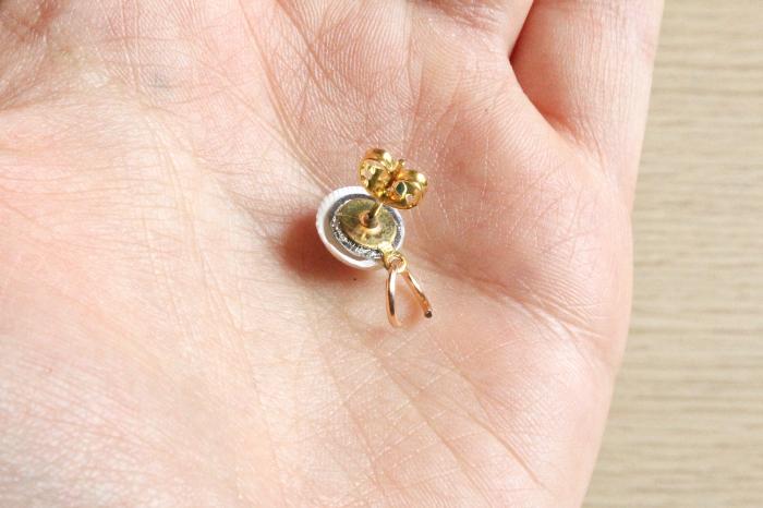 Boucles d'oreilles homard en plastique fou-Montage des boucles d'oreilles