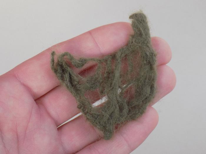 Comment utiliser les restes de laine pour feutrer une fleur-Erreurs et correction