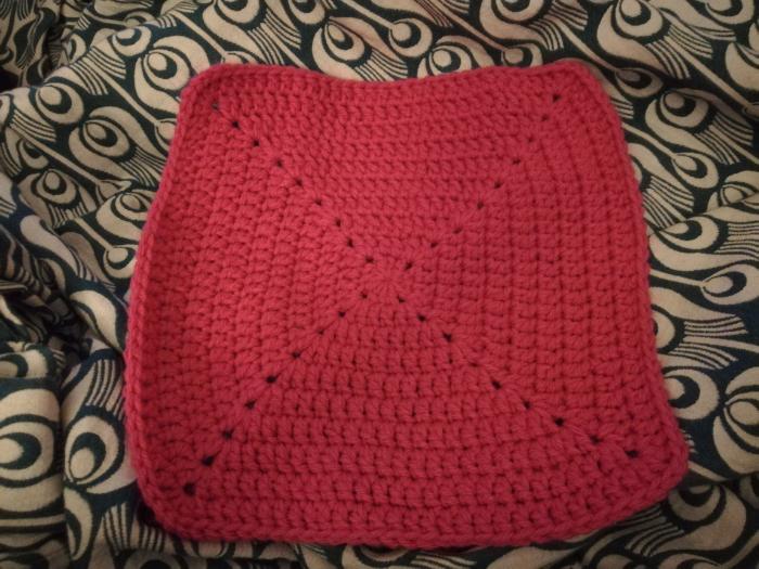 Angéline Crochet-Construction de l'angeline