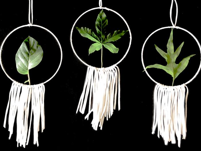 Cercle décoratif végétal-L'habillage végétal