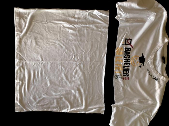 Pelote fabriquée à partir d'un t-shirt !-La préparation
