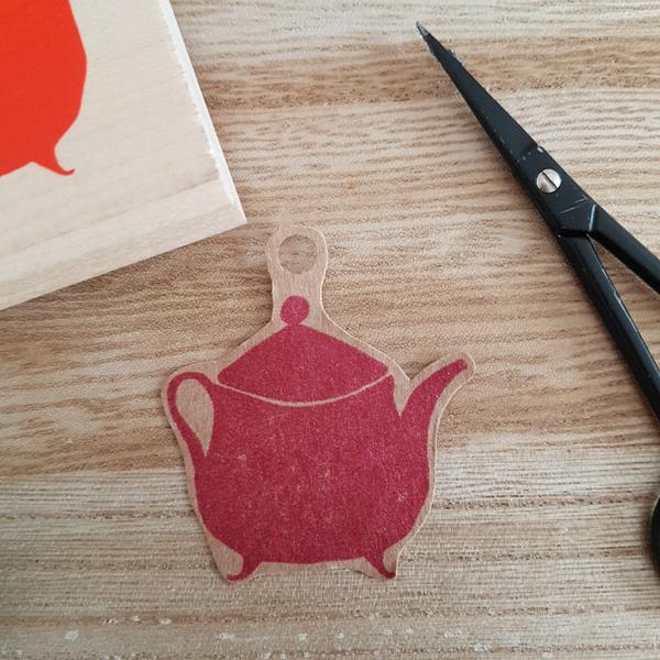 Créer son papier cadeau-Créer une étiquette