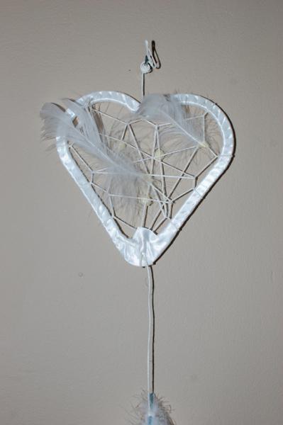 Attrape rêve de mariage-Les perles et les plumes...