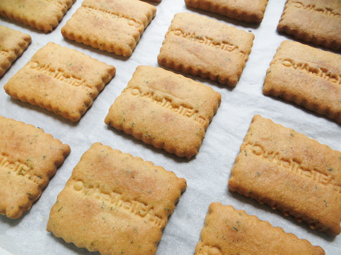 Thé biscuit maison !-Enfourner vos biscuits