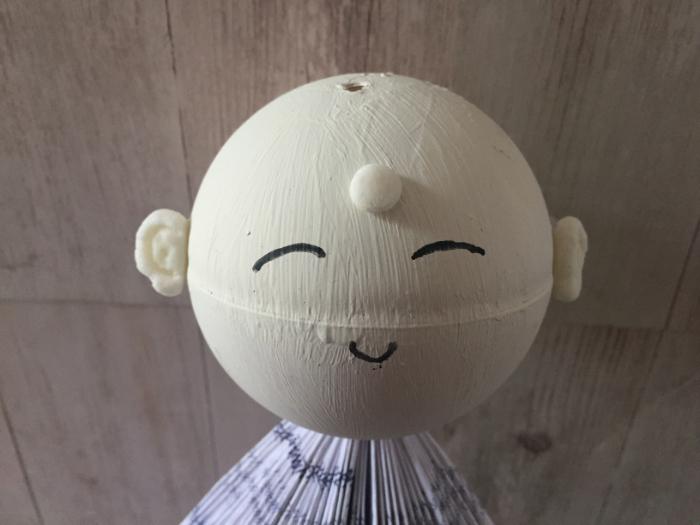Jizo Protecteur des enfants-La pate auto durcissante