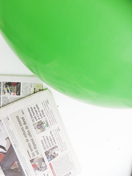 Thé piñata party -Gonfler votre ballon