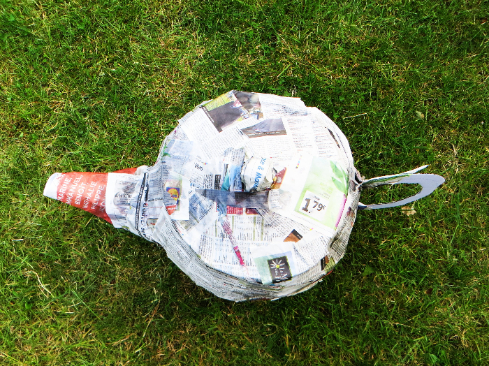 Thé piñata party -Laisser sécher
