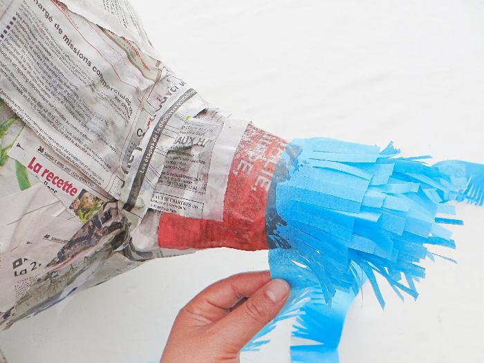 Thé piñata party -Décorer votre piñata