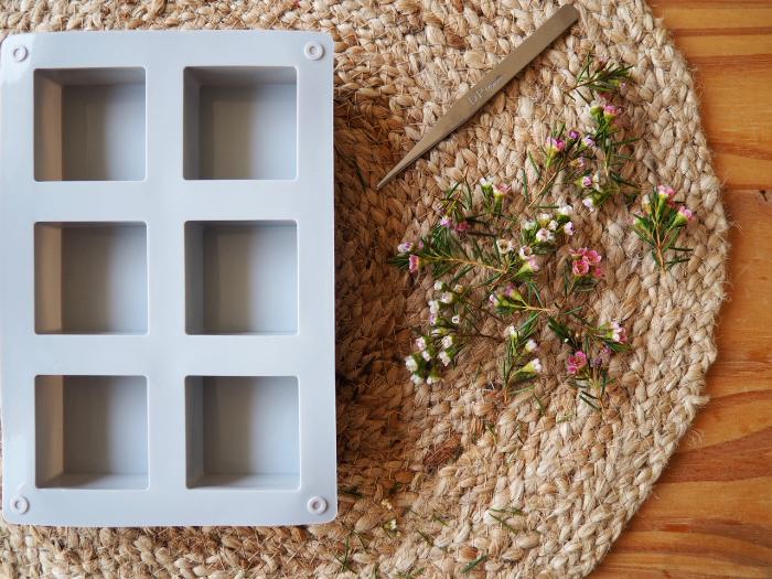 Savons au fleurs de Wax-Préparer vos fleurs de Wax
