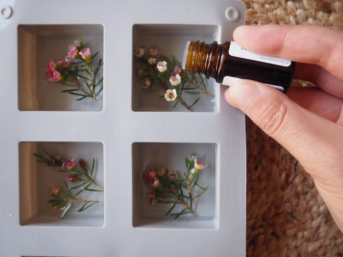 Savons au fleurs de Wax-Fleurissez vos savons