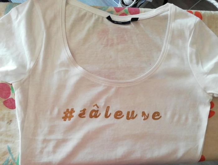 """Tee shirt """"Feel good""""-Se Prendre en photo avec son super teeshirt"""